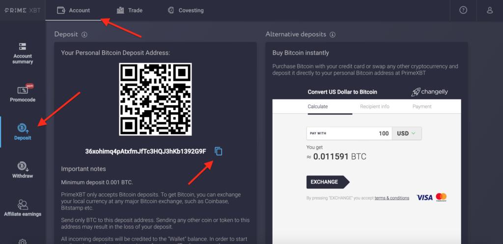 codici bonus di deposito bitcoin